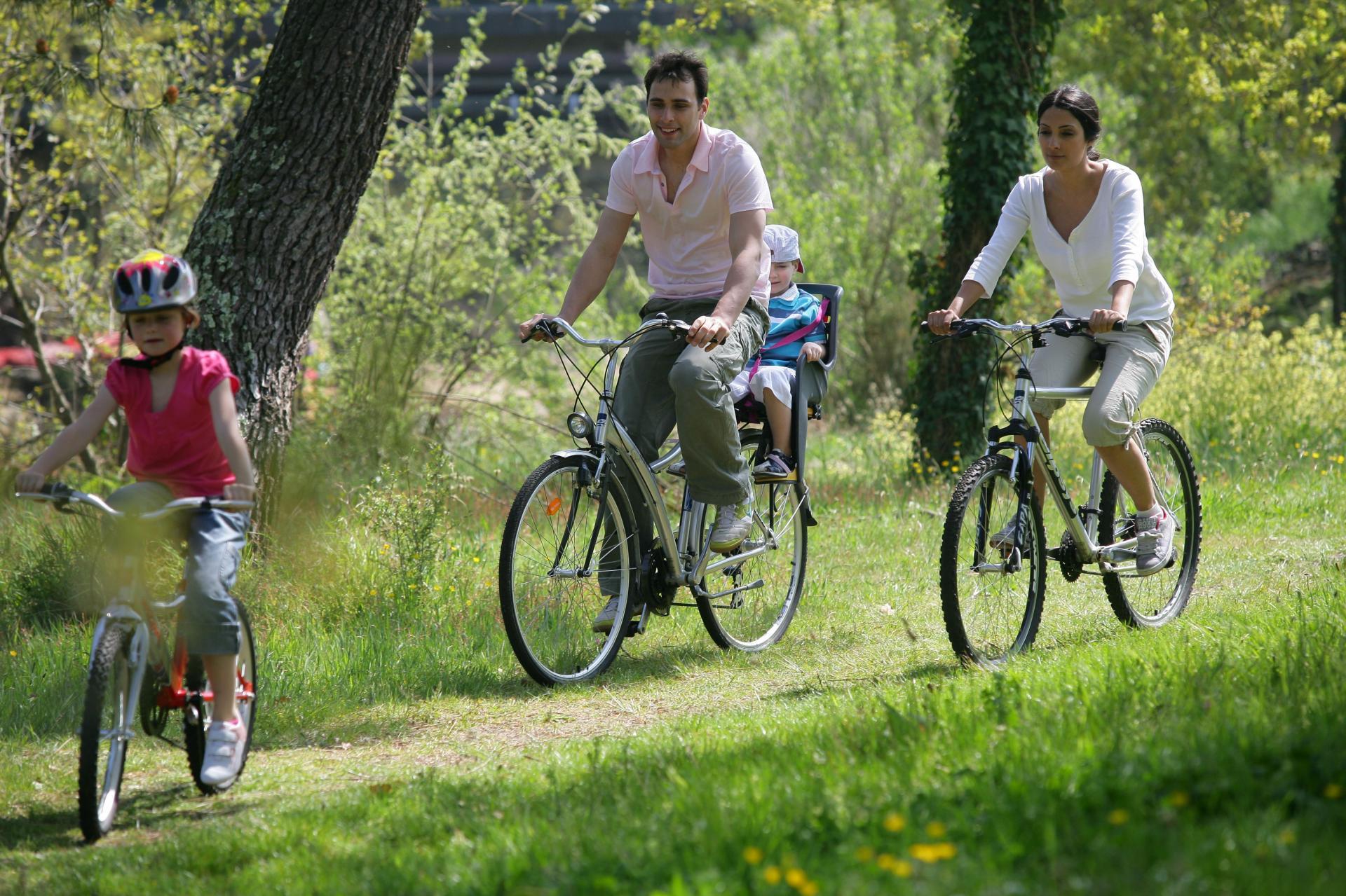 Balades en vélo